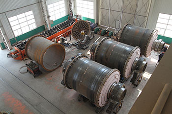 High Manganese Steel Cement Ball Mill Hollow Shaft Buy