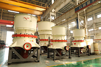 4 1 2 Cs Shorthead Cone Crusher