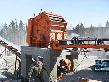 Product Granularity And Simple Structured Stone Crusher