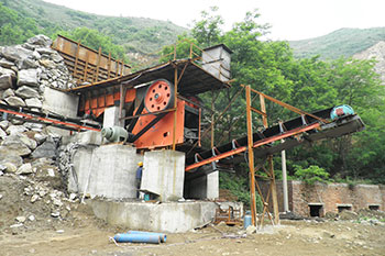 What Is The Working Process Of A Quarry Crusher Quora