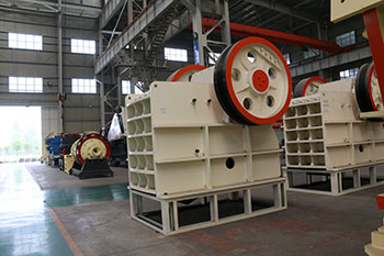Jaw Crusher Rack