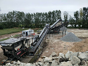 Used 30 Ton Stone Crusher Mobile Crushers All Over The