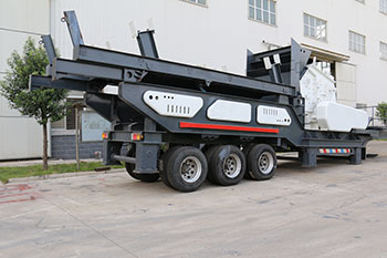 Mobile Crusher Plant For Concrete Waste Manufacturer Of