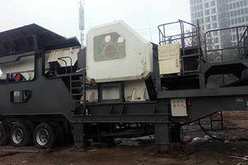 Portable Crushing Equipment Sales And Rental Thompson