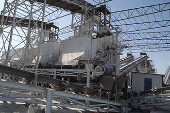Cap Cost Vibrating Screen