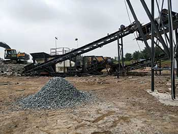 Crushed Stone Quarry Excavation Europe