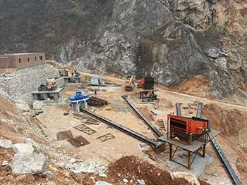 Chromite Ore Mining Machinery
